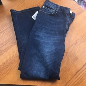 NWT Urban Outfitters High Waisted Crop Jean